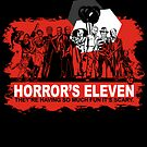 Horror's Eleven Sticker by Tracey Gurney