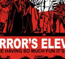 Horror's Eleven Sticker Sticker