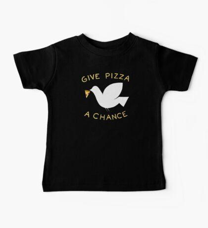 War & Pizza Baby Tee