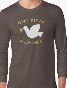 War & Pizza Long Sleeve T-Shirt