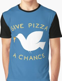 War & Pizza Graphic T-Shirt