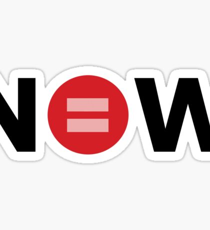 Equal Love Now Sticker