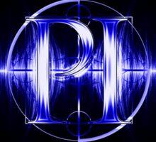 PI Radio Logo Sticker (Blue) Sticker