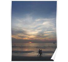 Sunset, Kata Beach (2) Poster