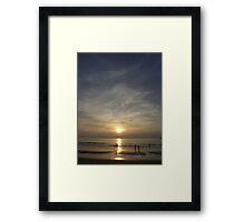 Sunset, Kata Beach (1) Framed Print