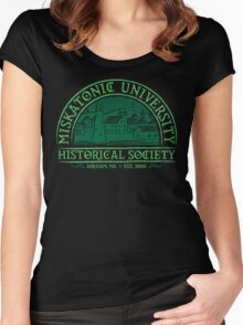 Miskatonic Historical Society Women's Fitted Scoop T-Shirt