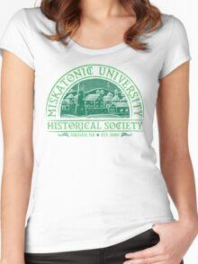 Miskatonic Historical Society Women's Fitted Scoop T-Shirt