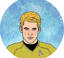 Captain Kirk by CMDebauchery