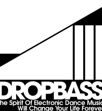 DropBass Logo  Sticker