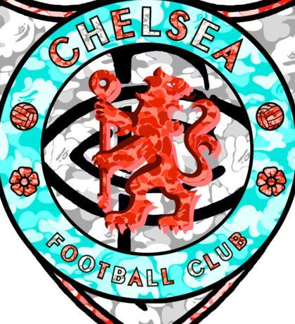 CHELSEA WHITE Sticker
