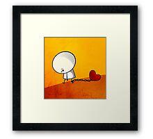 Love Prisoner Framed Print