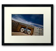 Trains and trenches Framed Print