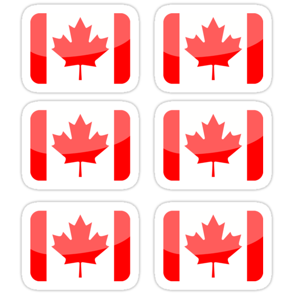 Flags of the World - Canada x6 by CongressTart