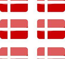 Flags of the World - Denmark x6 by CongressTart