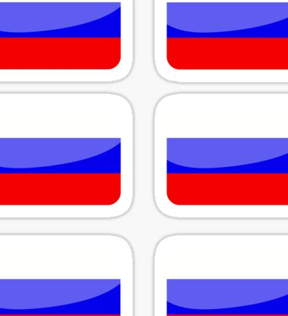 Flags of the World - Russia x6 Sticker