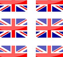 Flags of the World - Great Britain x6 by CongressTart