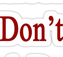 Cameroonians Don't Back Down Sticker