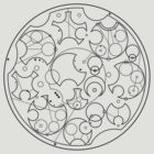 Gallifreyan Sherlock (Black Print) by phantomssiren