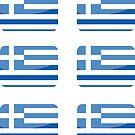Flags of the World - Greece x6 by CongressTart