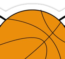 Basketball with Wings Sticker