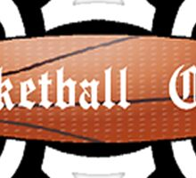 Basketball Chick Tribal Sticker