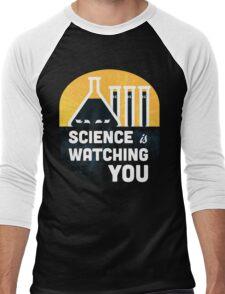 Science is Watching You Men's Baseball ¾ T-Shirt