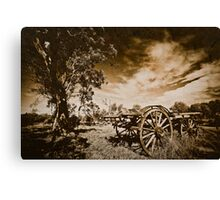 Bye-Gone Canvas Print