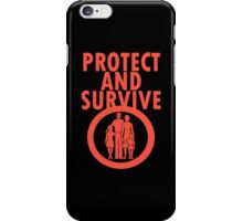 Protect And Survive Boy iPhone Case/Skin