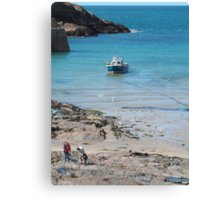 Port Isaac, Cornwall, England Canvas Print