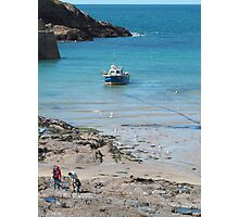 Port Isaac, Cornwall, England Photographic Print