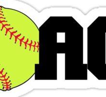 Softball Coach Sticker