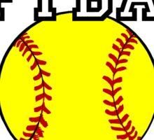 Softball Mom Sticker