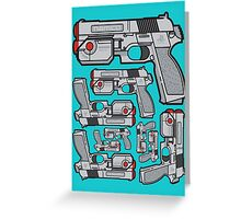 PS1 Namco GameCon Controller  Greeting Card