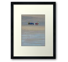 Going surfing, Cornwall Framed Print