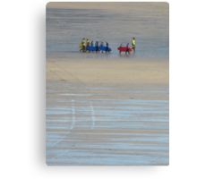 Going surfing, Cornwall Canvas Print