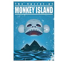 Monkey Island Travel Poster Photographic Print