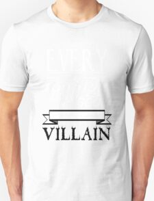 Old Fashioned Villain. Unisex T-Shirt