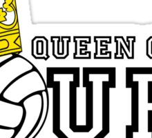 Queen of the Court Sticker