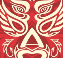 Griffon Wrestler Mask Design Sticker