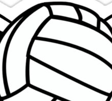 Volleyball with Wings Sticker