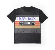 Hip Hop RAP  Music Cassette tape Graphic T-Shirt