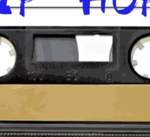 Hip Hop RAP  Music Cassette tape Sticker