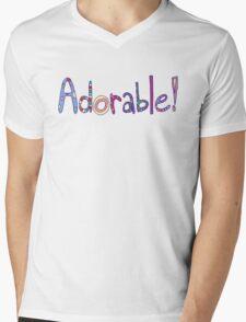 Adorable! Mens V-Neck T-Shirt