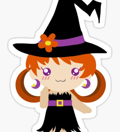 Little Witch Girl Sticker
