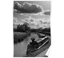 Looking Down The Canal Poster
