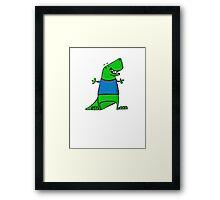 Tee-Rex Framed Print
