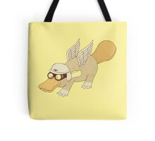 Platasus the Aviator Tote Bag
