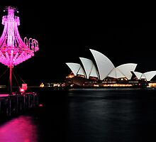 Chandeliers & Opera House | Vivid Sydney | 2012 by Bill Fonseca