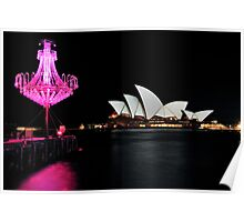 Chandeliers & Opera House | Vivid Sydney | 2012 Poster