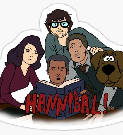 Scooby-Doo Hannibal Sticker